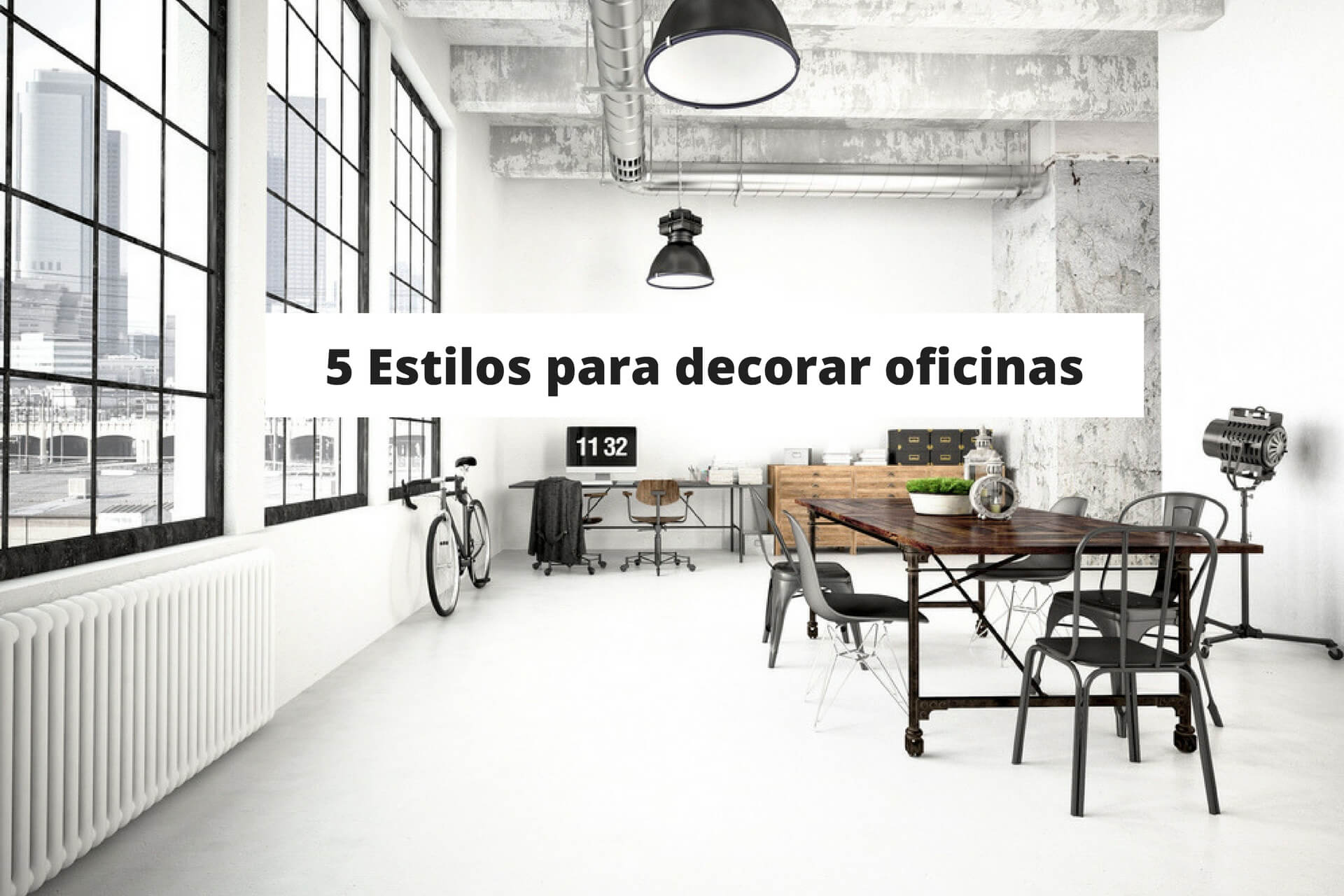 ideas_decorar_oficinas - estilos para decorar oficinas